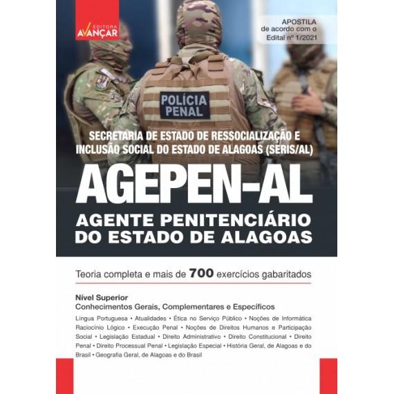 AGEPEN AL - Agente Penitenciário do Estado de Alagoas - E-book