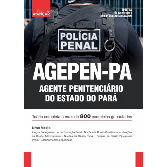 AGEPEN PA - Agente Penitenciário do Estado do Pará - E-book
