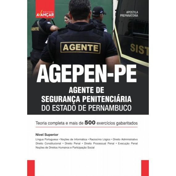 AGEPEN PE - Agente de Segurança Penitenciária do Estado de Pernambuco - E-book