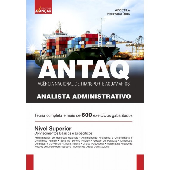 ANTAQ - Analista Administrativo - Ebook