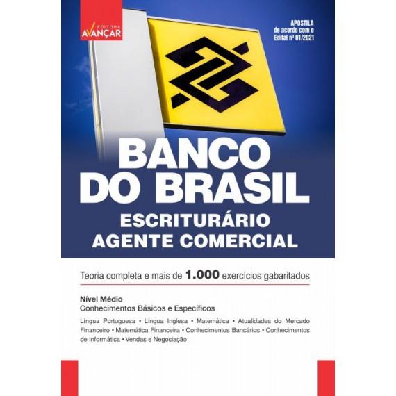 BANCO DO BRASIL - BB - Escriturário - Agente Comercial - E-book