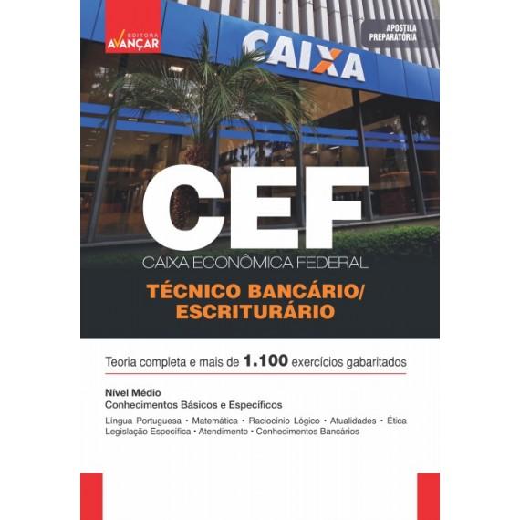 CAIXA ECONÔMICA FEDERAL - CEF - Escriturário - Técnico Bancário - E-book