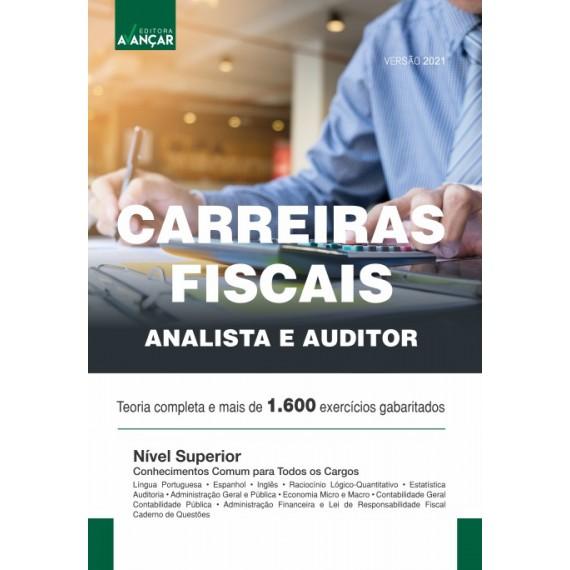 Carreiras Fiscais - Auditor e Analista - Versão 2021  - Ebook