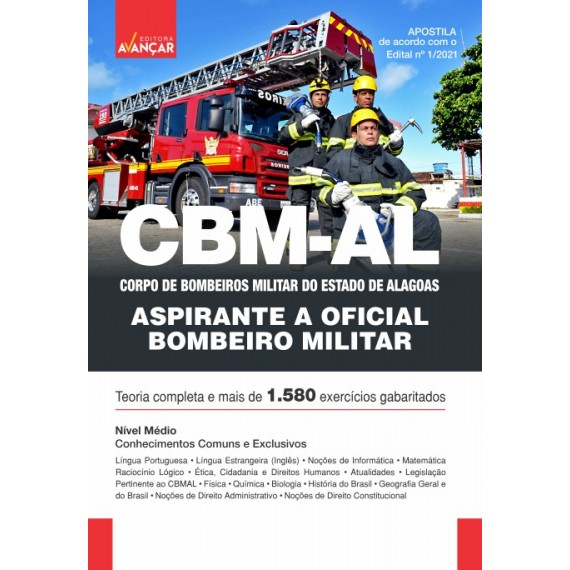 CBMAL - Oficial - Oficial do Corpo de Bombeiros Militar do Estado de Alagoas - E-book