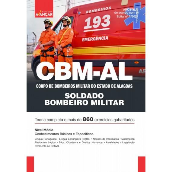 CBMAL - Cadete - Oficial do Corpo de Bombeiros Militar do Estado de Alagoas - E-book