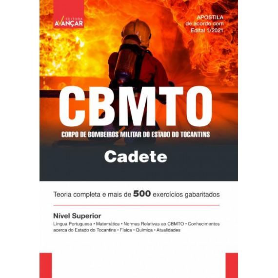 CBMTO - Cadete - Oficial do Corpo de Bombeiros Militar do Estado do Tocantins - Impresso