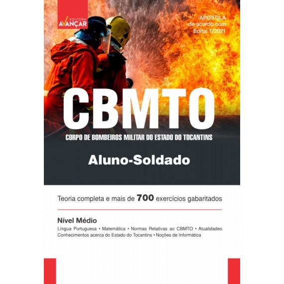 CBMTO - Soldado do Corpo de Bombeiros Militar do Estado do Tocantins - Ebook