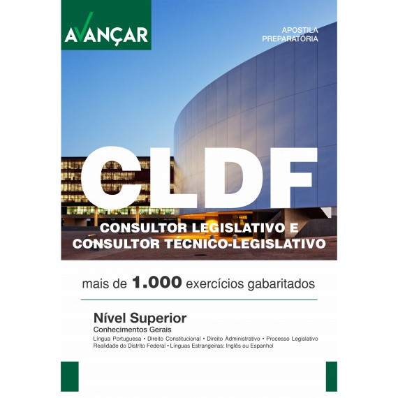 CLDF - Consultor Legislativo e Consultor Técnico Legislativo - Ebook