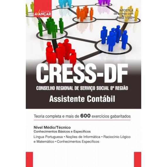 Conselho Regional de Serviço Social 8ª Região - CRESS-DF - Assistente Contábil - E-book