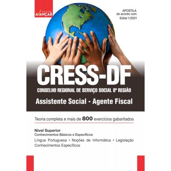 Conselho Regional de Serviço Social 8ª Região - CRESS-DF - Assistente Social: Agente Fiscal- E-book