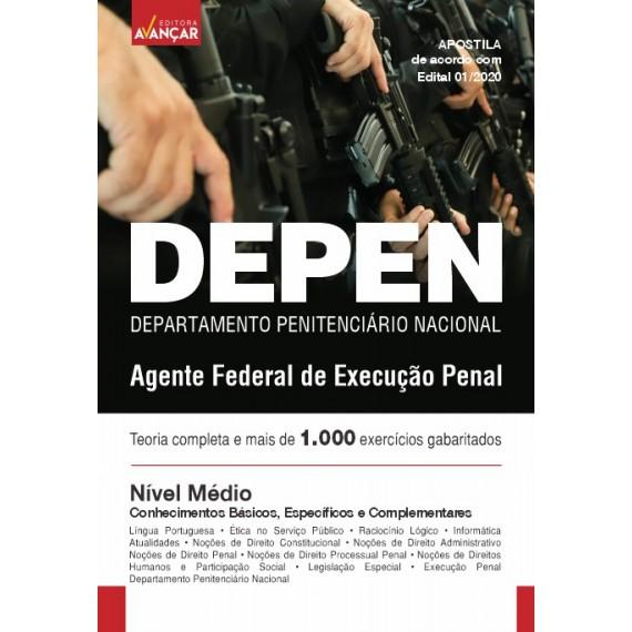 DEPEN - Agente Federal de Execução Penal - Ebook