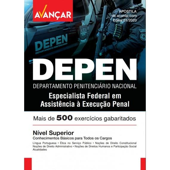 DEPEN - Especialista Federal em Assistência à Execução Penal - Ebook