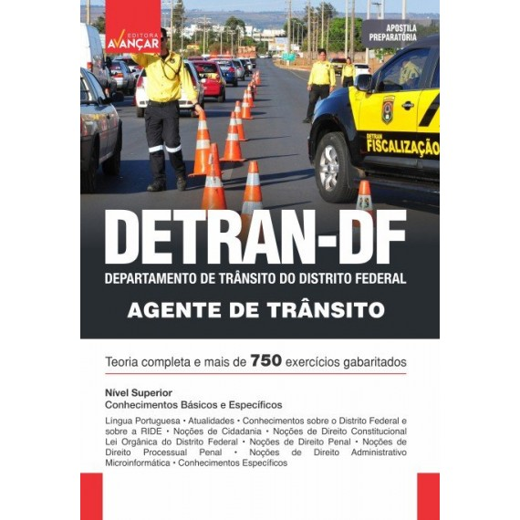 DETRAN DF - Agente de Trânsito - E-book