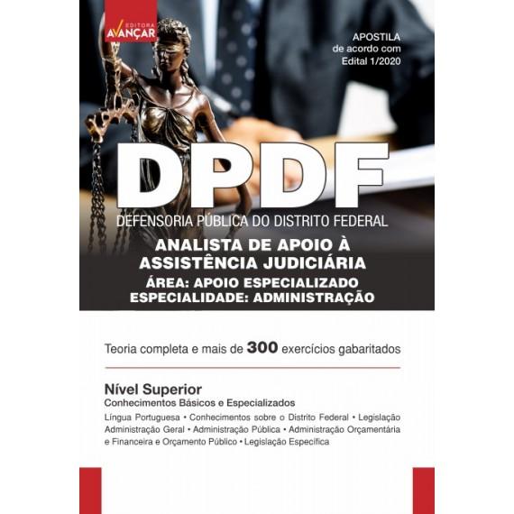 DPDF - Analista de Apoio à Assistência Judiciária - Administração - Impresso