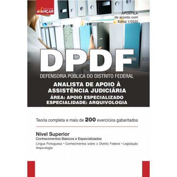 DPDF - Analista de Apoio à Assistência Judiciária - Arquivologia - Ebook