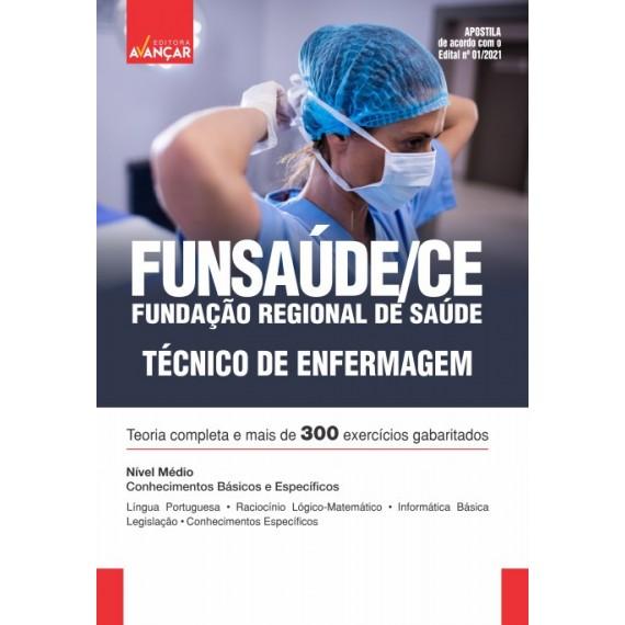 FUNSAÚDE CE : Técnico de Enfermagem - E-book