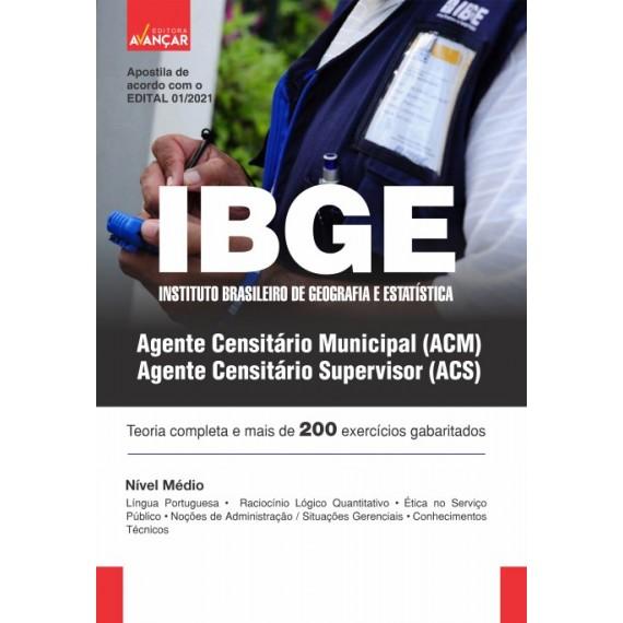 IBGE - Agente Censitário Municipal e Agente Censitário Supervisor - Ebook
