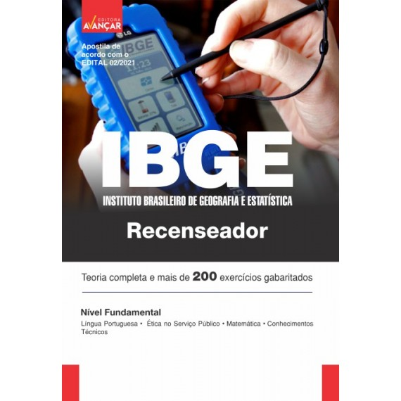 IBGE - Recenseador - Ebook