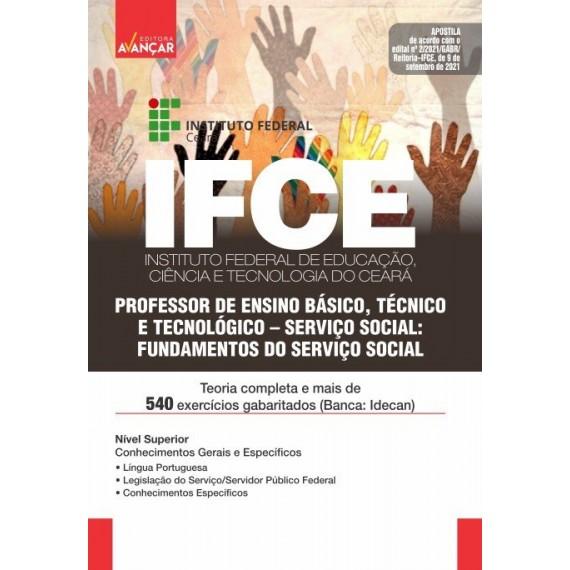 IFCE: Professor de Ensino Básico, Técnico e Tecnológico: Serviço Social - Fundamentos do Serviço Social - E-book