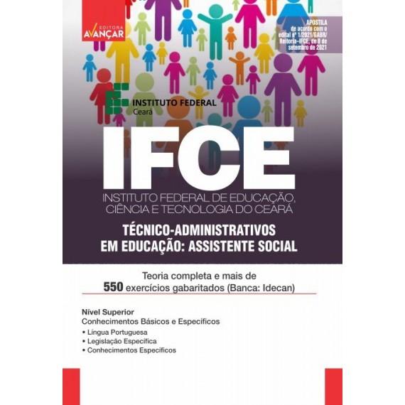 IFCE : Técnico-Administrativos em Educação: Assistente Social - Impresso
