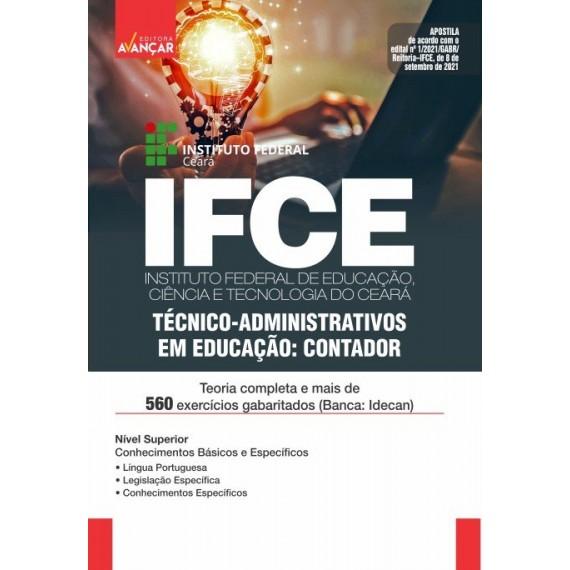 IFCE : Técnico-Administrativos em Educação: Contador - E-book