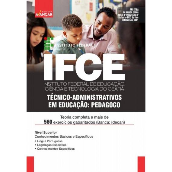 IFCE : Técnico-Administrativos em Educação: Pedagogo - Impresso