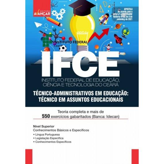 IFCE : Técnico-Administrativos em Educação: Técnico em Assuntos Educacionais - Impressa