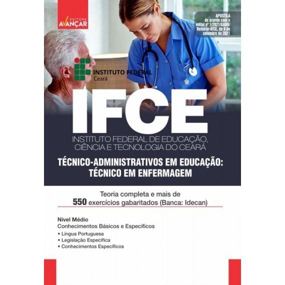 IFCE : Técnico-Administrativos em Educação: Técnico em Enfermagem - E-book