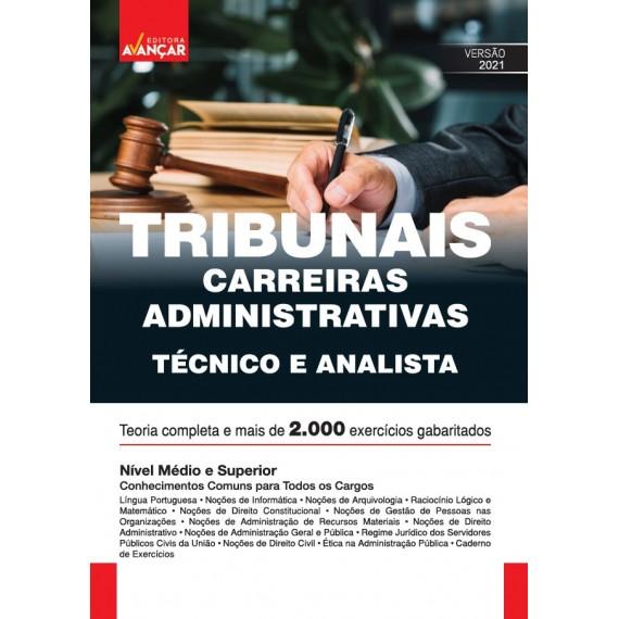 Módulo Para Tribunais - Carreiras Administrativas - Técnico e Analista - Impresso