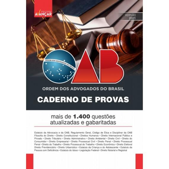 OAB - Caderno de Provas - E-book
