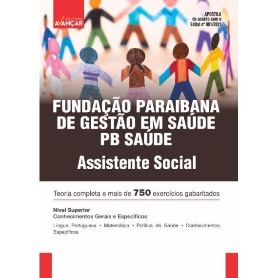 PB SAÚDE - Fundação Paraibana de Gestão em Saúde - Assistente Social - E-book