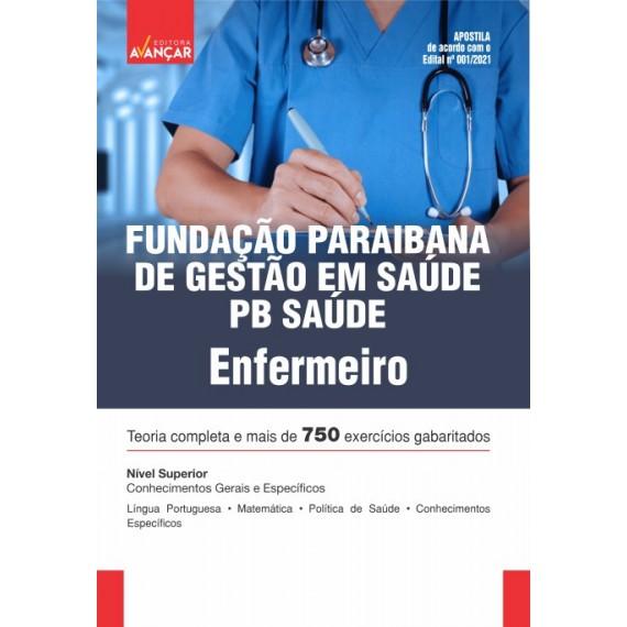 PB SAÚDE - Fundação Paraibana de Gestão em Saúde - Enfermeiro  - E-book
