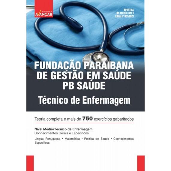 PB SAÚDE - Fundação Paraibana de Gestão em Saúde - Técnico de Enfermagem - E-book