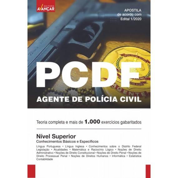 PCDF - AGENTE DE POLÍCIA CIVIL - Impresso