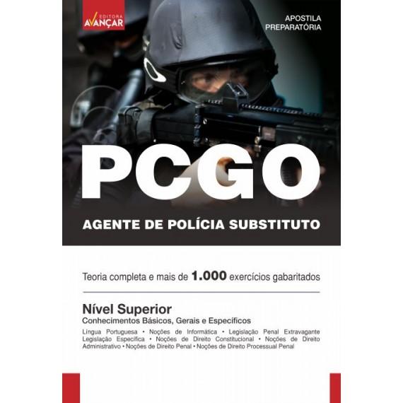 PCGO - Agente de Polícia Substituto - Ebook