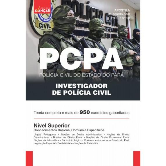 PCPA - Investigador de Polícia Civil do Pará - Ebook