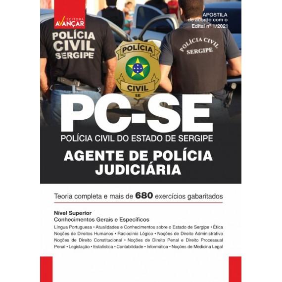 PCSE - Polícia Civil do Estado de Sergipe: Agente de Polícia Judiciária - Impresso