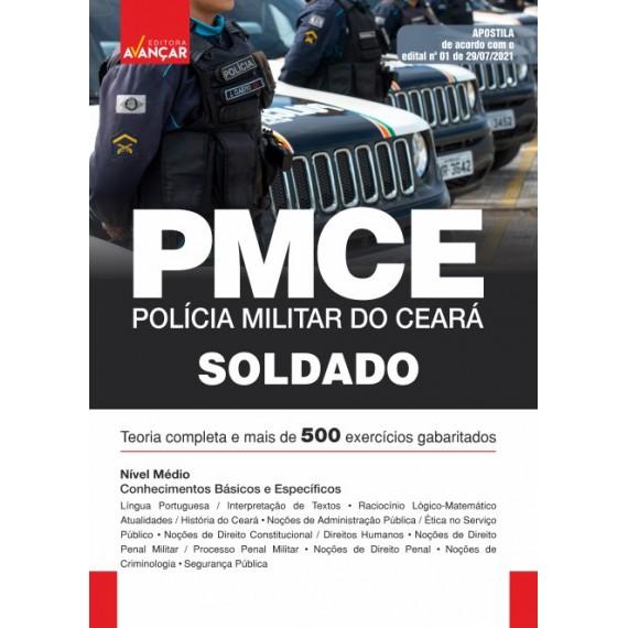 PMCE - Soldado da Polícia Militar do Ceará - E-book