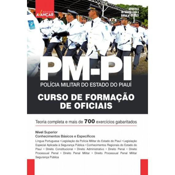 PMPI - Oficial da Polícia Militar do Estado do Piauí - E-book