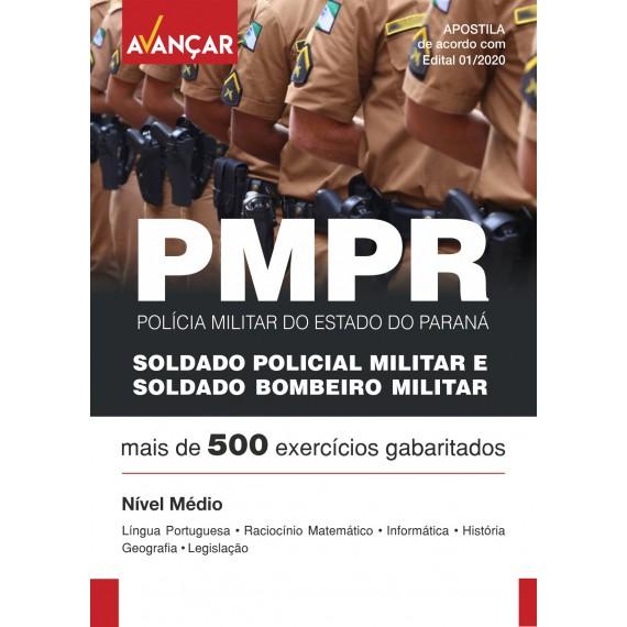PMPR - Soldado Policial Militar e Soldado Bombeiro Militar  - Ebook