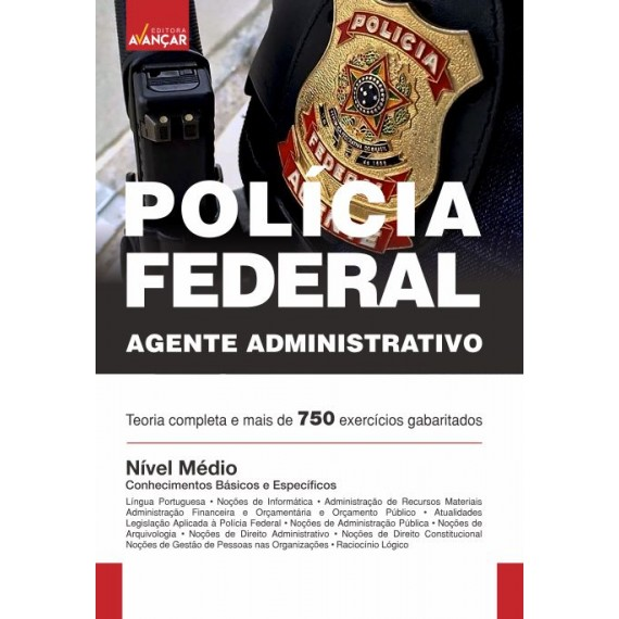 Policia Federal - PF: Agente Administrativo - Ebook