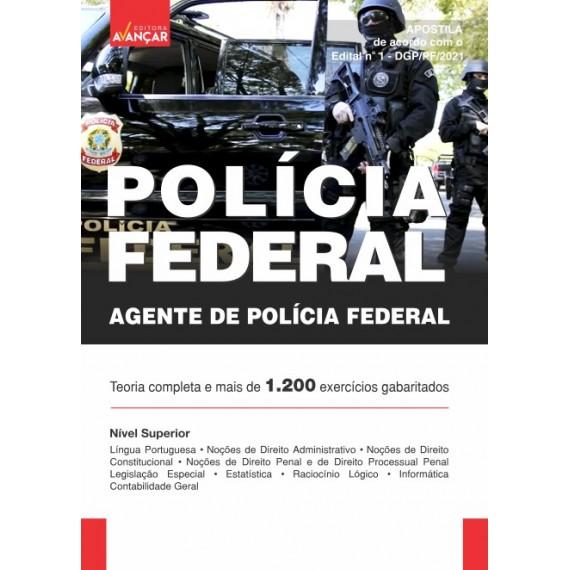 Polícia Federal - PF: Agente de Polícia Federal - Ebook