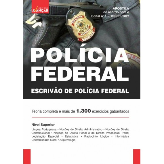 Policia Federal - PF: Escrivão de Policia Federal - Ebook
