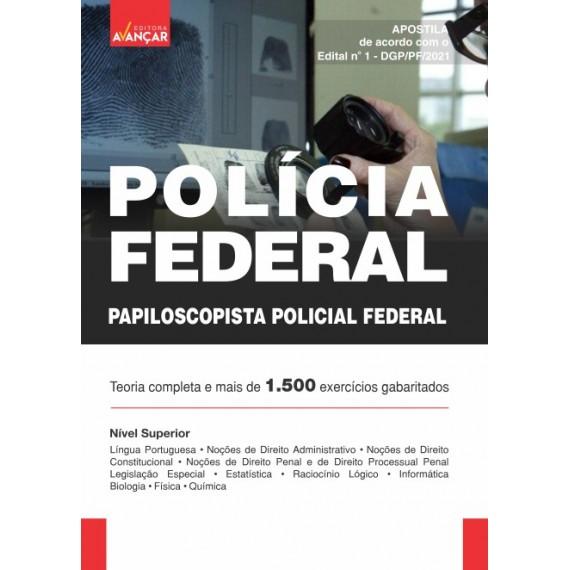 Polícia Federal - PF: Papiloscopista Policial Federal - Ebook