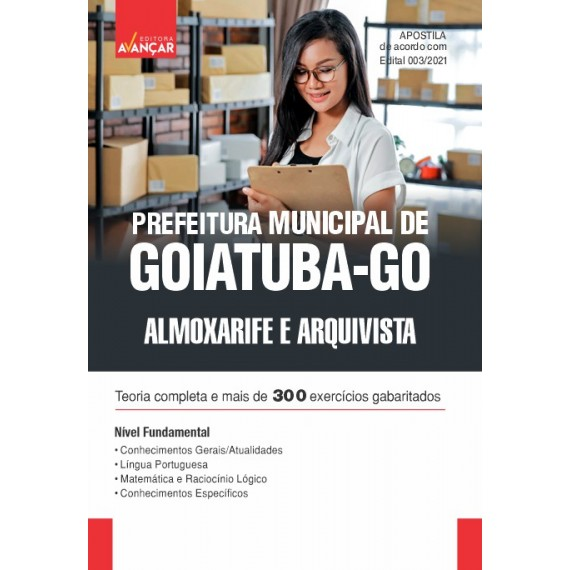 Prefeitura Municipal de Goiatuba - GO - Almoxarife e Arquivista - E-book