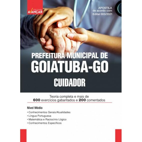 Prefeitura Municipal de Goiatuba - GO - Cuidador - E-book