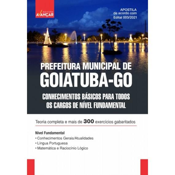 Prefeitura Municipal de Goiatuba - GO - Nível Fundamental - E-book