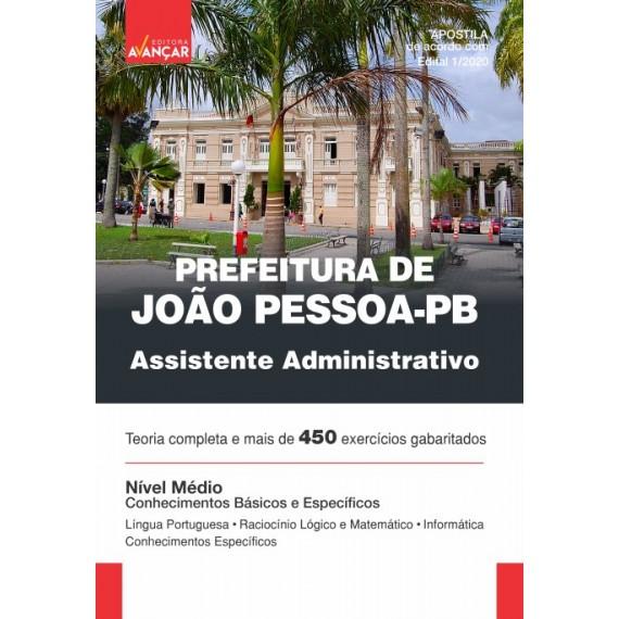 Prefeitura de João Pessoa - PB - Assistente Administrativo - Impresso