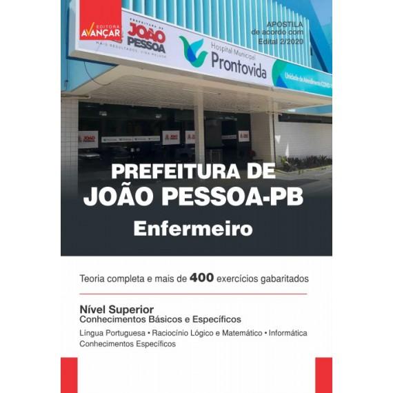 Prefeitura de João Pessoa - PB - Enfermeiro - Ebook