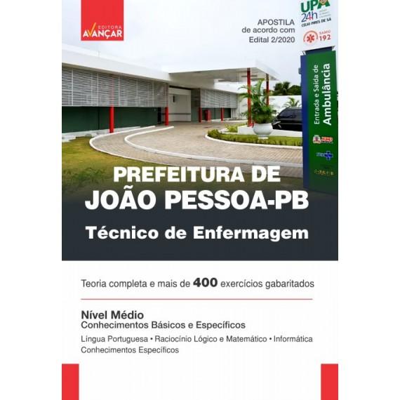 Prefeitura de João Pessoa - PB - Técnico de Enfermagem - Ebook